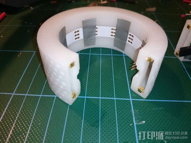 LED发光手镯 3D模型  图5