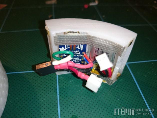 LED发光手镯 3D模型  图4
