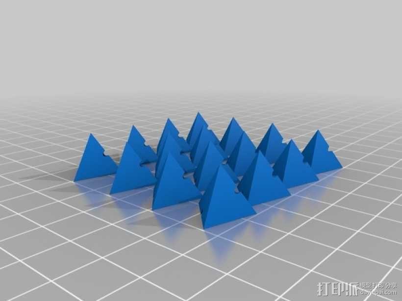 多面体小串珠 3D模型  图3
