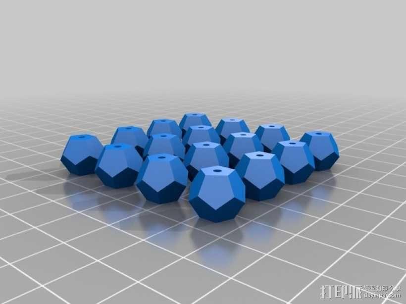 多面体小串珠 3D模型  图4