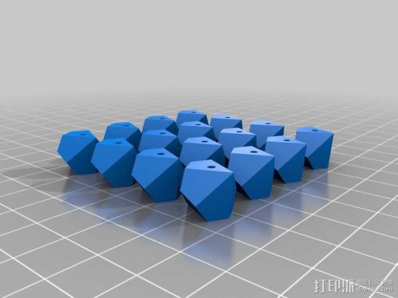多面体小串珠 3D模型  图5
