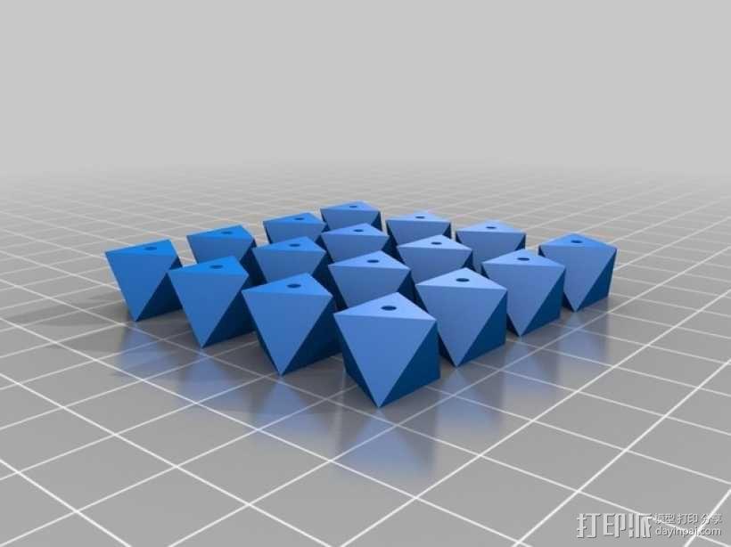 多面体小串珠 3D模型  图7