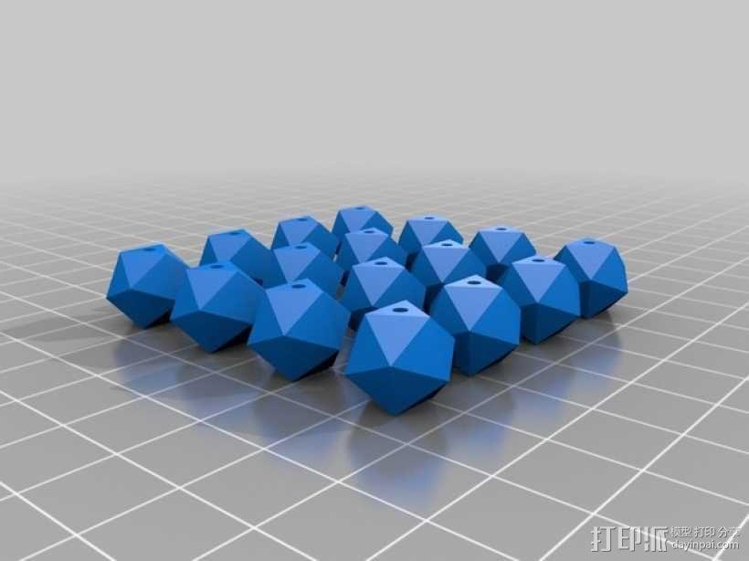 多面体小串珠 3D模型  图8