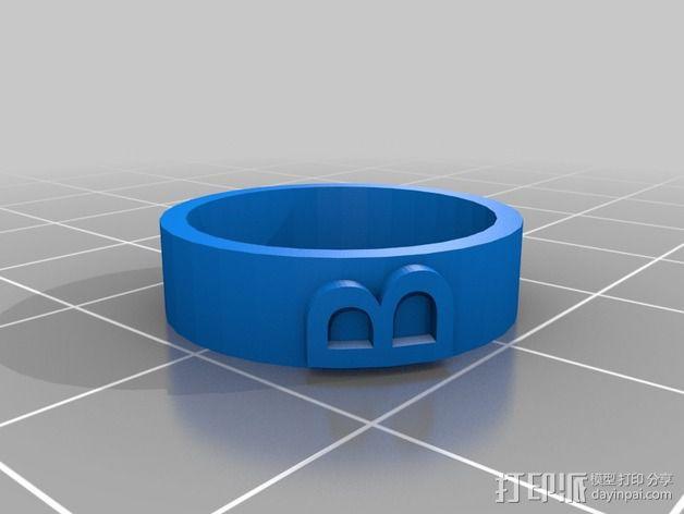 婚礼戒指 3D模型  图2