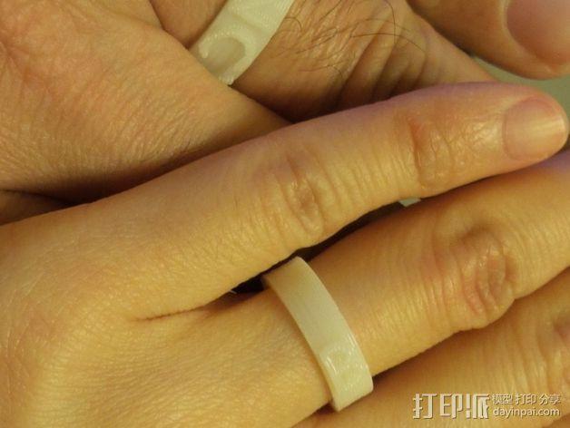婚礼戒指 3D模型  图4