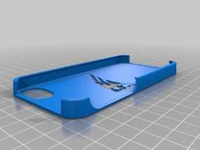 新英格兰爱国者队iPhone手机保护套 3D模型