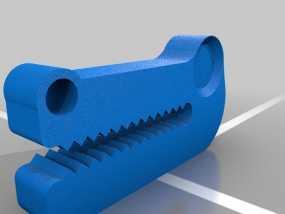 鳄鱼头挂钩 3D模型