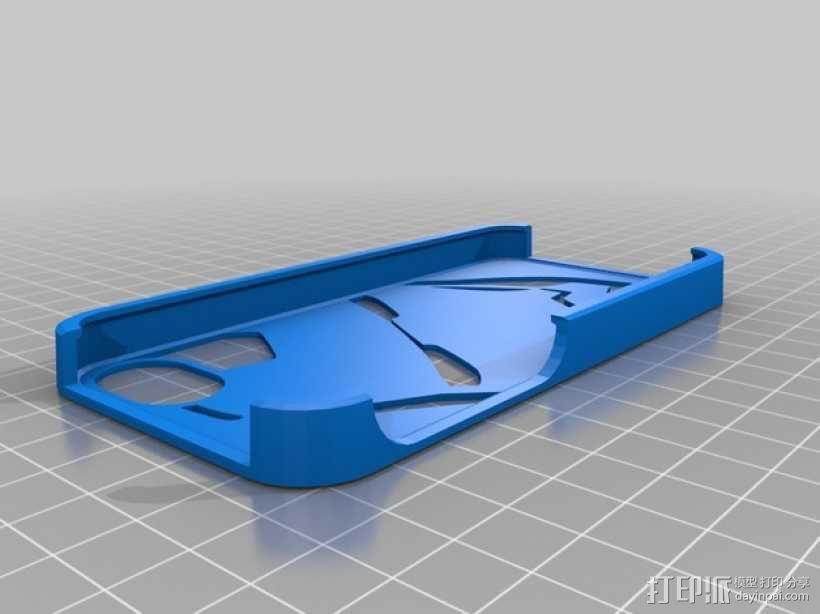 钢铁侠iPhone5 手机保护壳 3D模型  图1