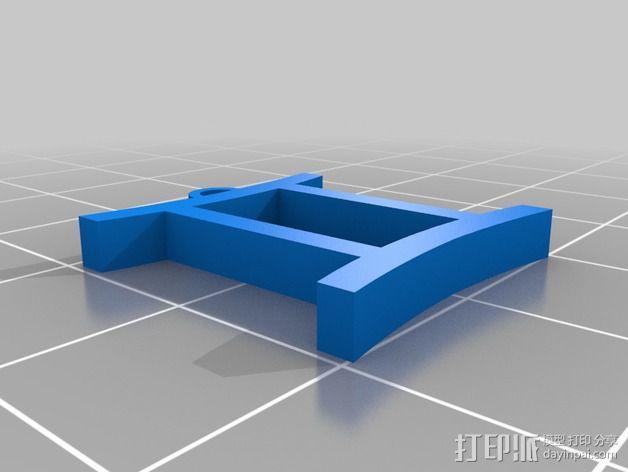塞尔达传说 耳环坠 3D模型  图8