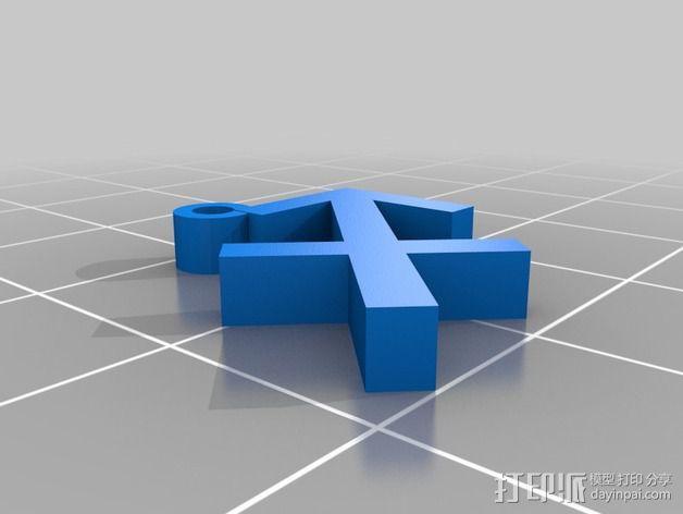 塞尔达传说 耳环坠 3D模型  图9