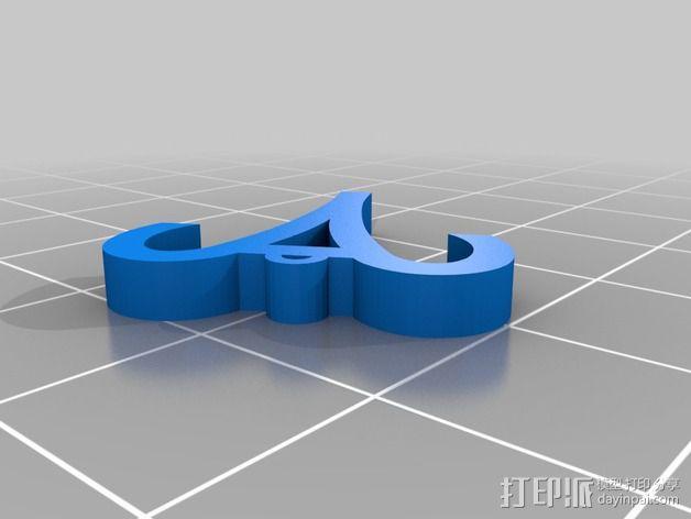 塞尔达传说 耳环坠 3D模型  图13