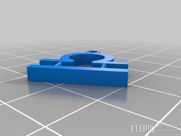 塞尔达传说 耳环坠 3D模型  图12