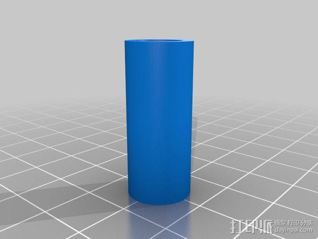 绳索插塞接头 绳索扣 3D模型  图3