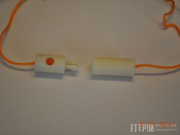绳索插塞接头 绳索扣 3D模型  图5