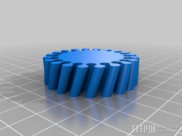 弹性手环 3D模型  图3
