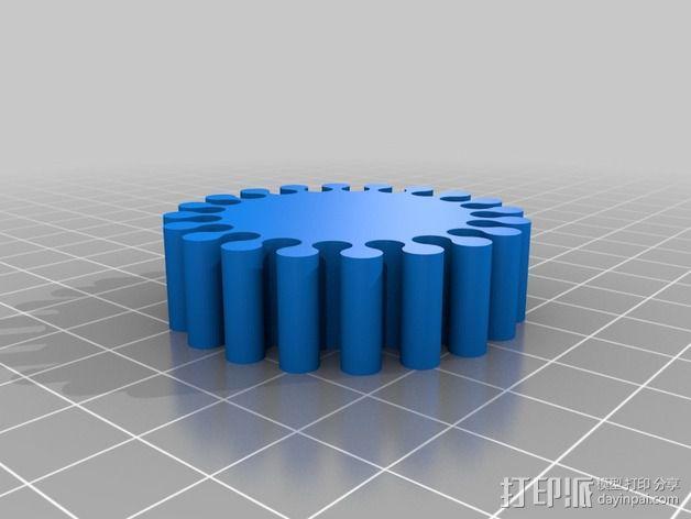 弹性手环 3D模型  图2