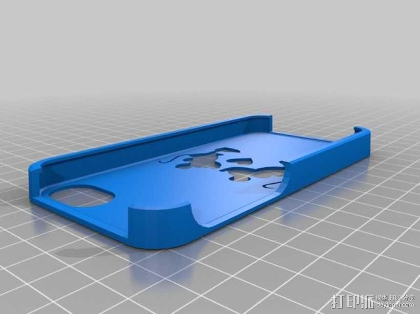 米奇和米妮iPhone5手机套 3D模型  图1
