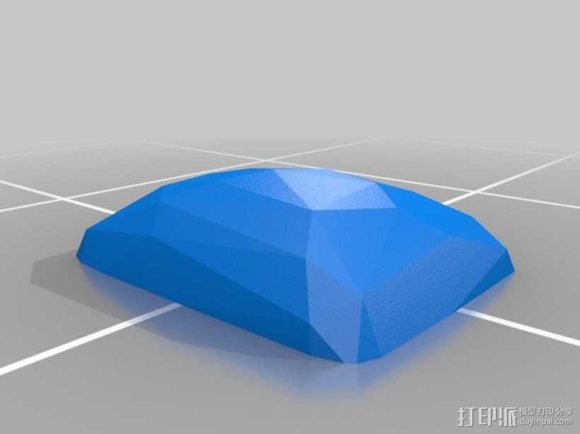 宝石胸针 3D模型  图4