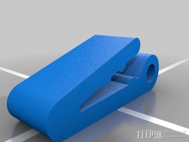 挂钩 3D模型  图1