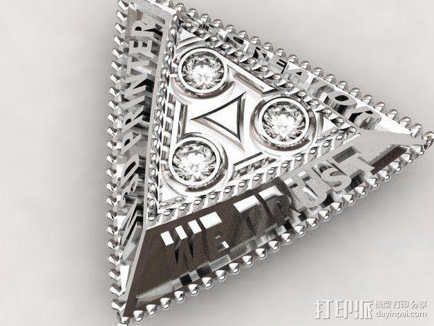 B9C项链 3D模型  图3