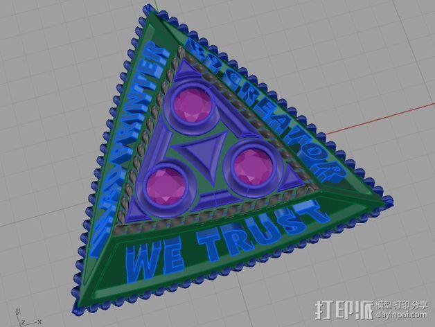 B9C项链 3D模型  图5