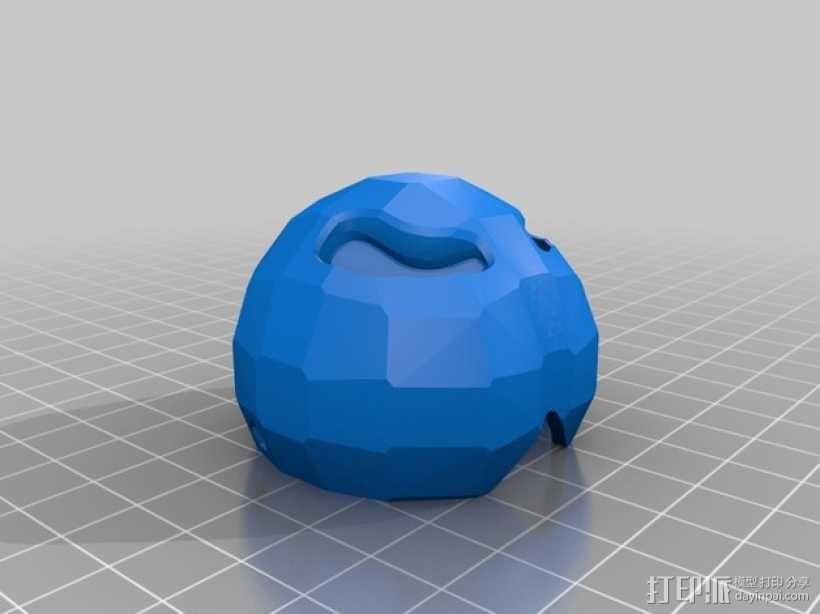 驯鹿角头箍 3D模型  图3
