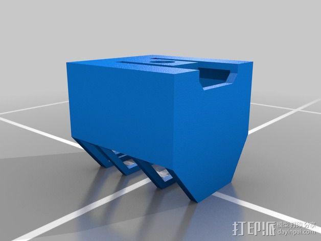 独眼巨人腰带 3D模型  图3