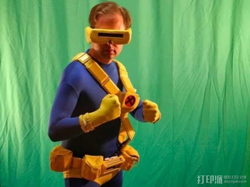 独眼巨人腰带 3D模型  图1