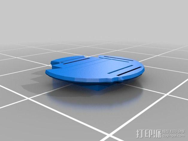 独眼巨人腰带 3D模型  图4