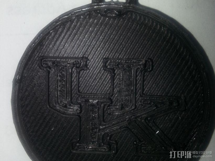 篮球挂件 3D模型  图2
