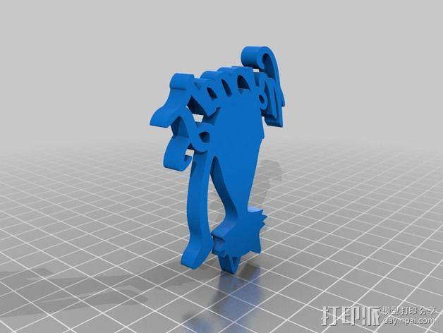 招财猫 3D模型  图3