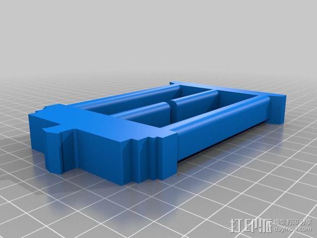 TARDIS腰带扣 3D模型  图3