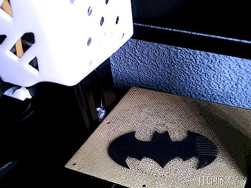 蝙蝠梳子 3D模型  图3