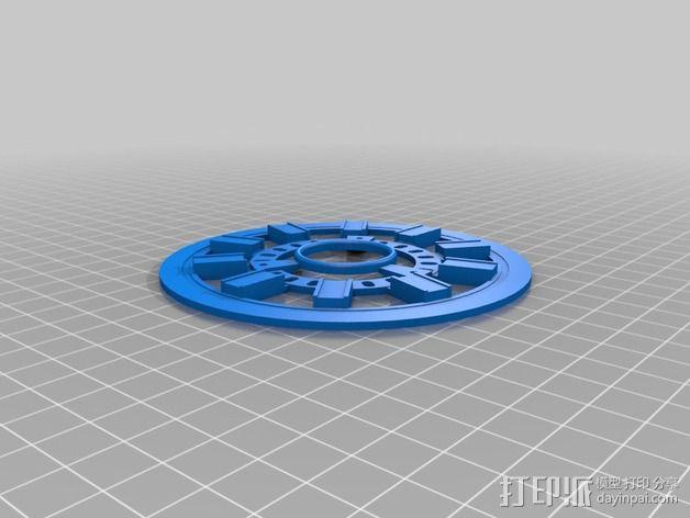 发光能量环 3D模型  图3