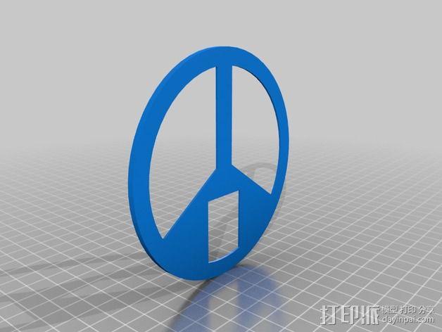 发光能量环 3D模型  图4