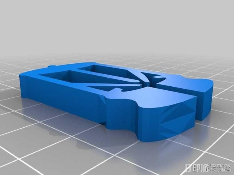 3D打印耳环 3D模型  图2