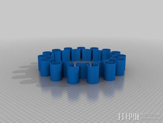 太阳手环 3D模型  图2
