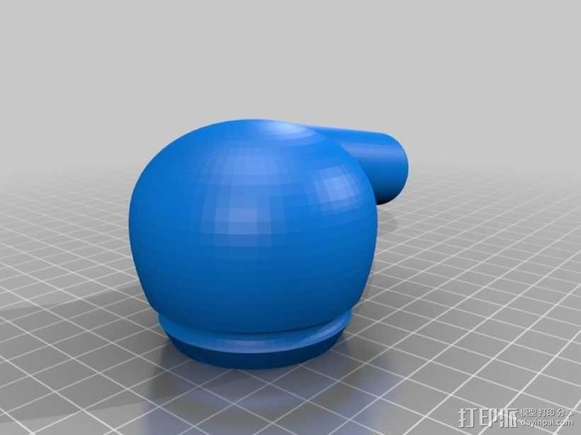 简易烟斗 3D模型  图2