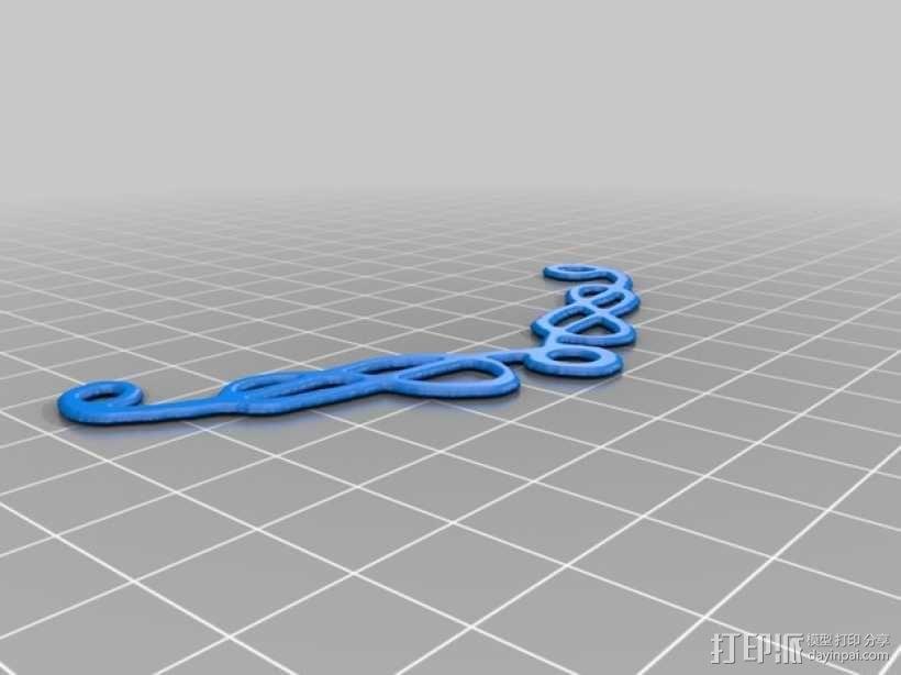 凯尔特项链 3D模型  图1