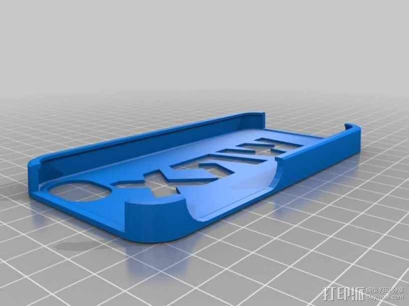wrx手机壳 3D模型  图1