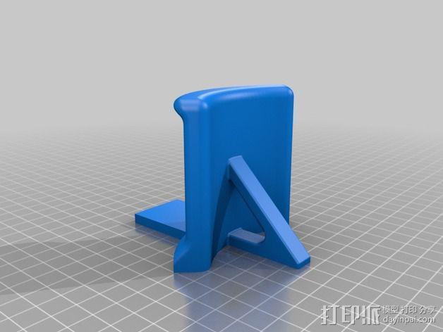 头戴耳机悬挂架 3D模型  图6