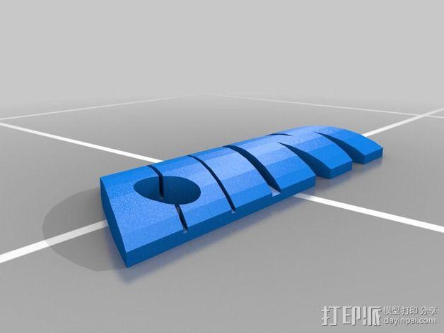 钥匙链 3D模型  图2