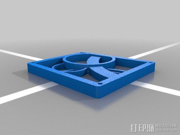 3D打印丝带 3D模型  图3