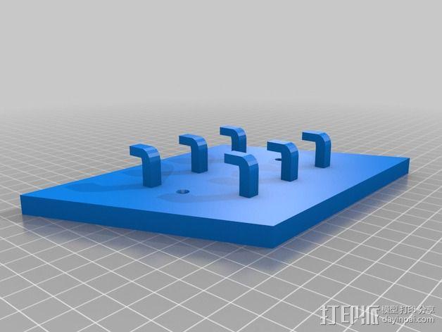 衣钩 3D模型  图2