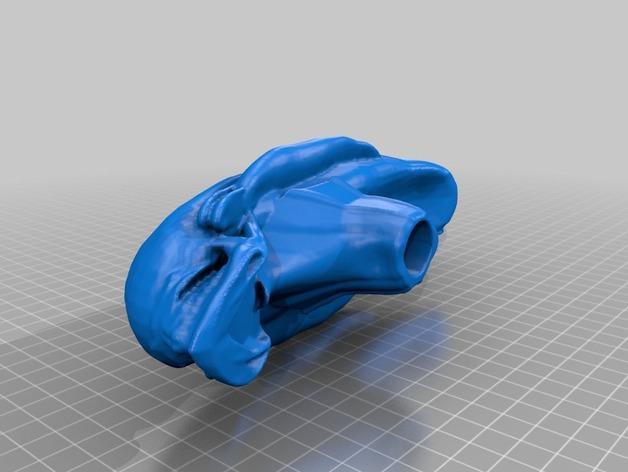 外星人手杖 3D模型  图2