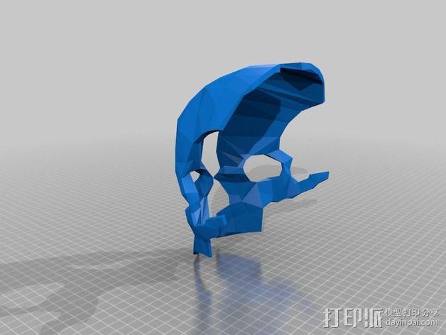 科尔武面具 3D模型  图1