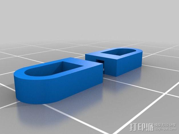 谷歌眼镜 眼镜横梁 3D模型  图14