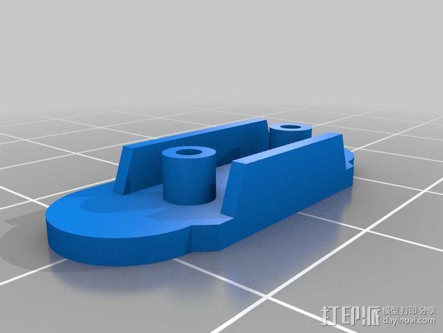 谷歌眼镜 眼镜横梁 3D模型  图15