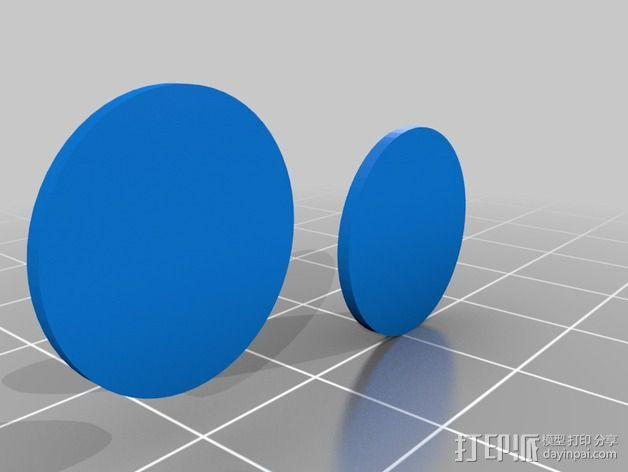 Hack A Day戒指 3D模型  图6
