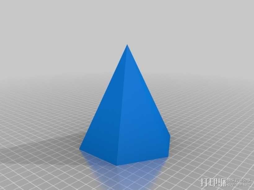 钻石头环 3D模型  图1